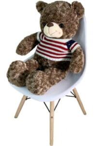 Gấu Bông Cao Cấp Teddy Áo Len Lá Cờ Size 80cm