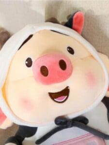 Thú Bông Heo Tik Tok Bò Sữa Cute