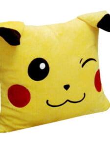 Gối ngủ văn phòng cao cấp 40*40 hình Pikachu