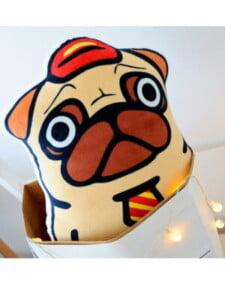 Cặp Đôi Thú Bông Trang Trí Bulldog