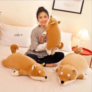 Gấu bông chó akita