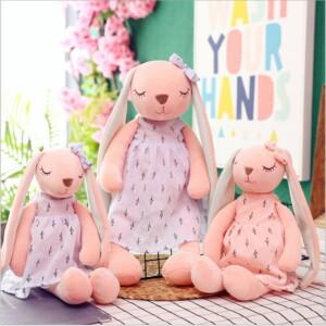 Gấu Bông Thỏ Tai Dài Mặc Váy