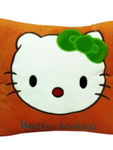 Gối ngủ văn phòng cao cấp 40*40 hình Hello Kitty ngộ nghĩnh