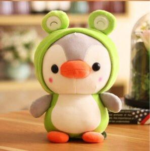 Gấu bông chim cánh cụt cosplay 25cm