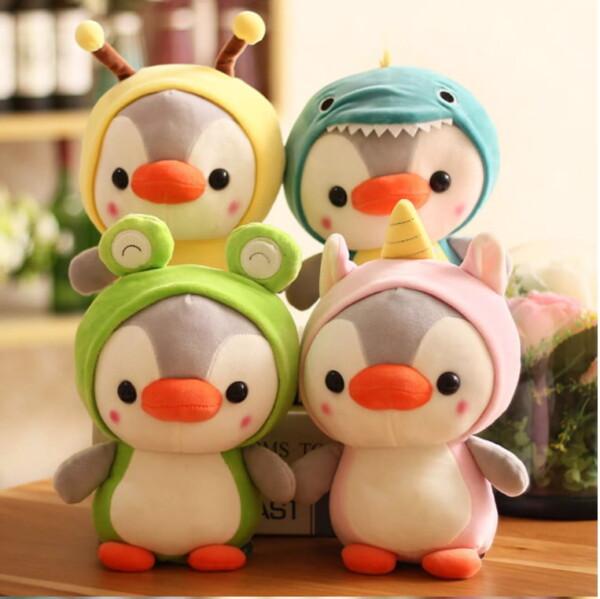 Thú nhồi bông chim cánh cụt cosplay