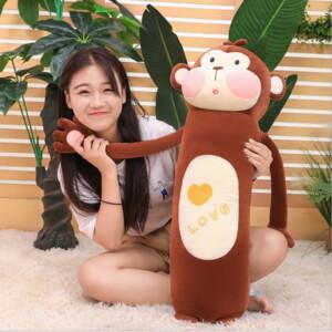 Gấu bông khỉ quấn tay