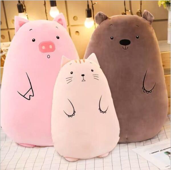 gấu ôm heo mèo gấu