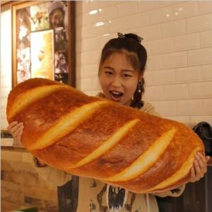 Gấu bông hình bánh mì
