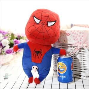 Gấu bông Shin Spiderman