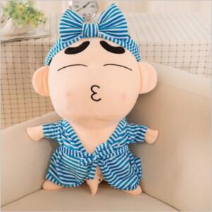 Gấu bông Shin mặc áo ngủ