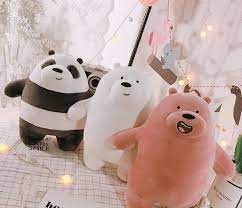 gấu bông We Bare Bears