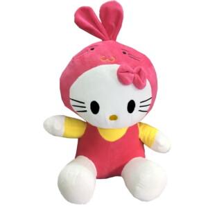 thú nhồi bồn kitty tai thỏ xinh xắn