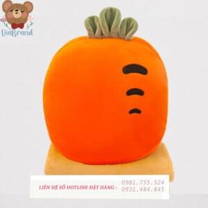 gấu bông ủ tay cà rốt