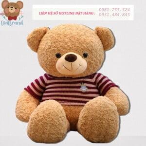 Gấu bông in logo siêu yêu tại Diabrand