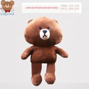 Gấu bông Brown tặng người yêu siêu cưng
