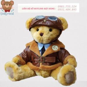 Gấu bông phi công siêu đang yêu
