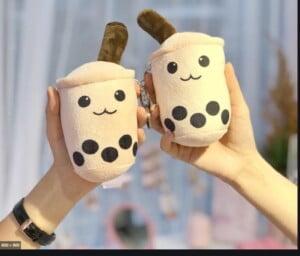 Ly trà sữa gấu bông
