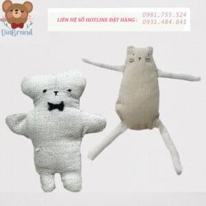 May gấu bông xấu lạ