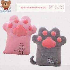 Gấu bông bàn chân mèo siêu cưng