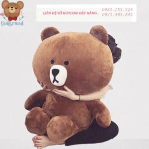 Gấu bông Brown tặng người yêu