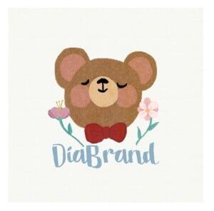 gấu bông cho bé cực yêu tại Diabrand