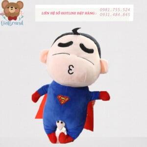 Gấu bông shin siêu anh hùng 45cm cực dễ thương